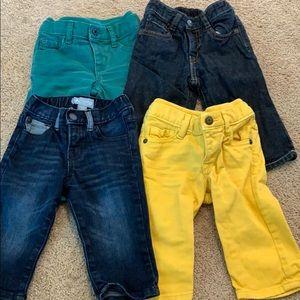 Boys bundle of Gap jeans size 6-12 month